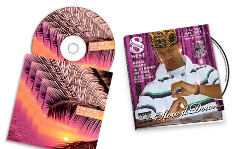 CD Inserts/Tray Cards