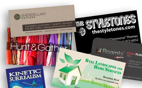 business cards - Business Card Printing San Diego